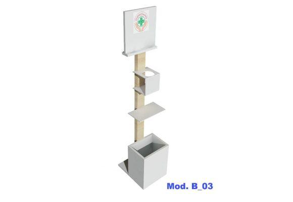 MOD. B_03 – PIANTANE E SUPPORTI